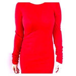 Red Midi Dress (MODA International)